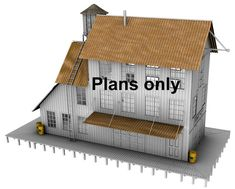 ho scale building plans free printable n scale buildings free ho scale ...
