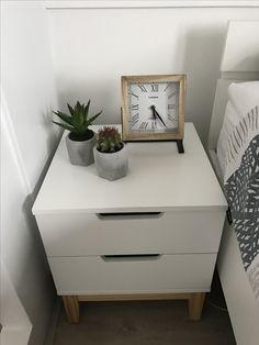 Nightstand cactus clock