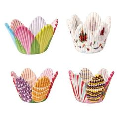 75 Mixed Petal Muffin Cupcake Paper Cases Liners Cups: Amazon.co.uk: Kitchen & Home