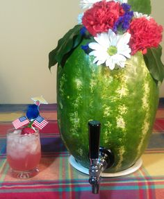 Watermelon Keg & Cooler...Going to do a non alcoholic drink with it.