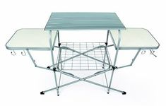 Outdoor Barbecue Kitchen Deluxe Grilling Table Steel Frame Aluminum Tabletops Great for RV trips, Camping, Travel Trailers and Backyard and Patio Camco Deluxe Folding Grill Table gives you plenty of room for prep and storage! It's a spacious. Camping Glamping, Camping Gear, Diy Camping, Camping Grill, Backyard Camping, Bushcraft Camping, Beach Camping, Camping Survival, Camping Furniture