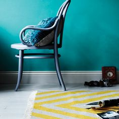Our Beautiful new Gatsby Rug in Saffron!