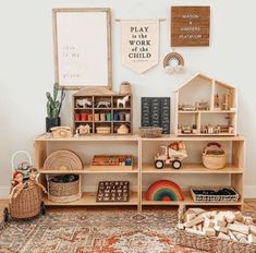 Playroom Design, Playroom Decor, Kids Room Design, Vintage Playroom, Playroom Quotes, Family Room Playroom, Playroom Paint, Modern Playroom, Office Playroom