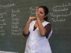 Libras - Vídeo 3 Saudações - YouTube Frases Libra, Libras Videos, Youtube, Signs, Amor, Youtubers, Youtube Movies