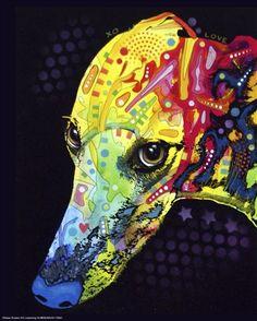 Greyhound-love Dean Russo