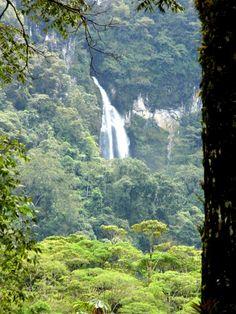 Arcoiris waterfall at Macio de Peñas blancas, Nicaragua