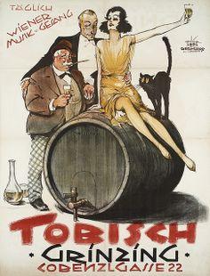 Tobish, Vienna (1925)  Artist : Rudolf Ledl & Fritz Bernhard.