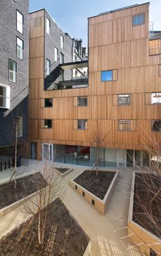 Student Housing in Paris, France by LAN Architecture