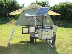 Bug-Out Survival: 4x4 Tent Trailers for Hauling Your Stuff Off Road hmmm....