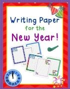 new year writing paper printables