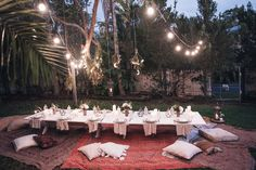 Moon to Moon: Spell: How to Host a Bohemian Dinner Party