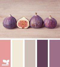 fig tones by {design seeds} - room color palette for Alyssa Colour Pallette, Color Palate, Colour Schemes, Color Combos, Color Patterns, Pink Palette, Color Trends, Design Seeds, Colour Board