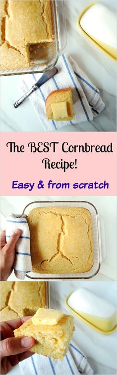 The best and only cornbread recipe you will ever need! So simple, moist and…