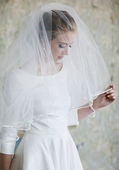 Classic Romance Ivory Veil | Modern Vintage Veils | Modern Vintage Accessories | Modern Vintage Bridal