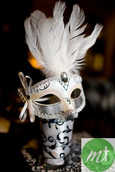 Masquerade Party Center Piece