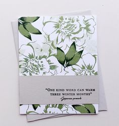 """353 Likes, 6 Comments - Altenew (@altenewllc) on Instagram: """"We are in awe of Aga(@made_by_aga)'s green monochromatic background card! Absolutely…"""""""