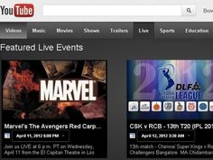 YouTube Live streaming now features pay-per-view