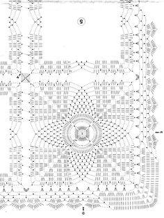 Ажурная скатерть крючком из квадратных мотивов.. Обсуждение на LiveInternet - Российский Сервис Онлайн-Дневников