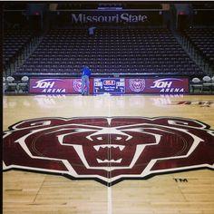 Missouri state university basketball