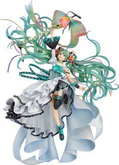初音ミク Memorial Dress Ver. 特設サイト|グッドスマイルカンパニー Hatsune Miku, Tokyo Otaku Mode, Figure Poses, Anime Figurines, Mode Shop, Anime Merchandise, Anime Dolls, Good Smile, Statue