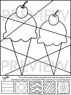 End of the Year Activities - Summer Interactive Coloring Sheets