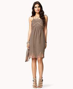 Romantic Floral Lace Dress