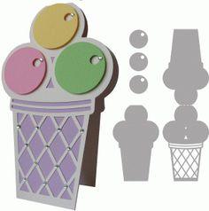 View Design: ice cream - card