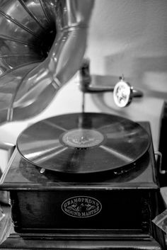 is Radio, rediscovered - gramophone () by advances in LOS ANGELES Music Aesthetic, Aesthetic Collage, Aesthetic Vintage, Aesthetic Photo, Black And White Photo Wall, Black N White, Black And White Pictures, Black And White Aesthetic, Bendy And The Ink Machine