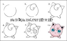 How to draw pokemon