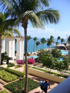 El Conquistador in Puerto Rico: such a beautiful resort. I loved every minute there!