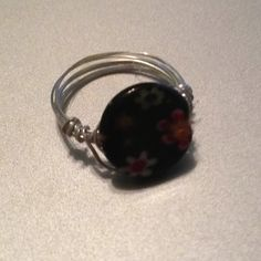 Wire wrap rings homemade