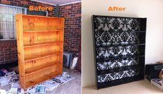 DIY Bookcase Renovation | IKEA Decoration