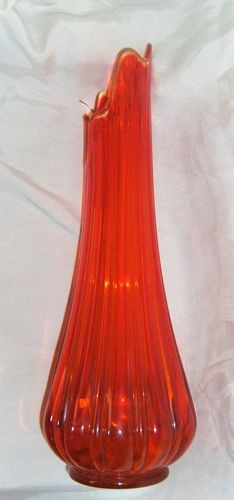Image result for vintage tall glass vases