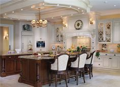Classic Traditional Kitchen by Peter Salerno on HomePortfolio