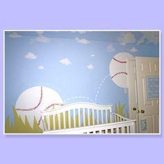 Baseball nursery heaven! @Meredith Shanks Thanks! it's tooooooooooooooooooo cute