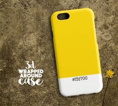 COLOR-FFD700 One M9 Case Htc One M8 Case Htc One by LoudUniverse