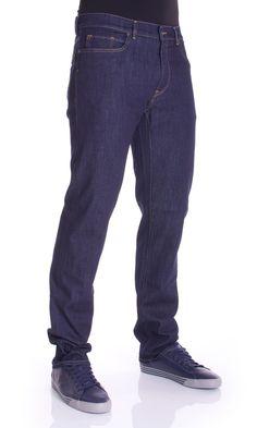 Trussardi Jeans | Jeans Trussardi Jeans Uomo Denim mod.380 Icon Basic Col.Blu su Dursoboutique.com 525001