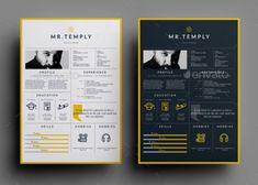 download 35 free creative resume cv templates xdesigns - Free Creative Resume Templates Download