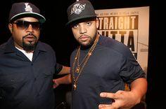 Ice Cube and O'Shea Jackson Jr.