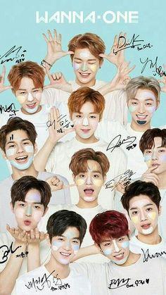 Wannaone unterzeichnen Plakat - Super K-Pop K Pop, Jinyoung, Bae, Ong Seung Woo, All Meme, Humor Mexicano, Guan Lin, Fandom, Produce 101 Season 2