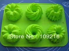 Hollow Small Castle and Flower Green Good Quality Food Grade Silicone Cake/Pizza Baking Pan DIY mold Small Castles, Ice Molds, Pizza Bake, Diy Molding, Cake Mold, Baking Pans, Food Grade, Kitchen Dining, The 100