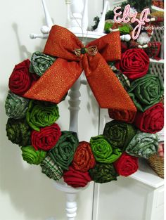Great Christmas decorating idea!