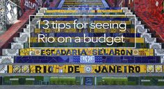 Rio de Janeiro can be an expensive city. Check out our new blog full of tips & tricks to see Rio on a budget. #travel #riodejaneiro #biking #fietstours #brazil #budget