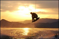 Wake Boarding is a major stress reliever for me. Gliding across the water, hitting the wake and getting air, takes your mind off all your problems. Wakeboarding, Longboarding, Rafting, Skate, Stand Up Paddle, Sup Surf, Water Photography, Lake Life, Extreme Sports