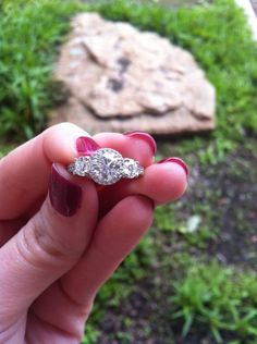 Ladies with Halo Cut rings please show me for inspiration!!! « Weddingbee Boards