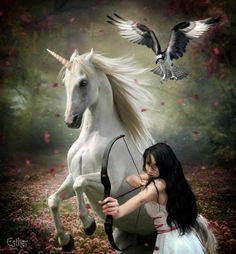 Unicorn tesss my spirits soar