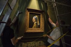 Vermeer's Girl with the Pearl Earring returned home. Image © Ivo Hoekstra
