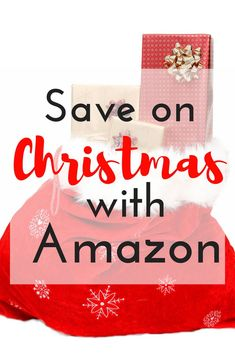 Amazon is a great way to shop and save on your Christmas list! I love shopping Amazon in my pj's and gifts arriving at my front door!  via /https/://www.pinterest.com/smartcents/
