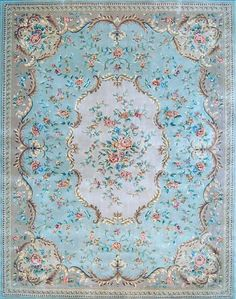 Dolls House Printed Area Rug by Miniatureville on Etsy