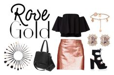 """""""Rose Gold"""" by ibuzzlightyear ❤ liked on Polyvore featuring Club Monaco, Sigma, Givenchy and rosegold"""